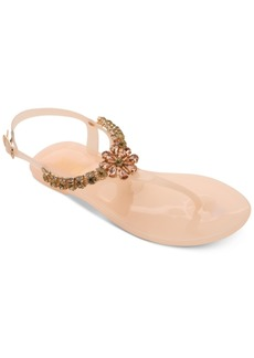 Xoxo Joanie Embellished Thong Jelly Sandals Women's Shoes