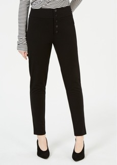 Xoxo Juniors' Button-Front High-Rise Skinny Pants