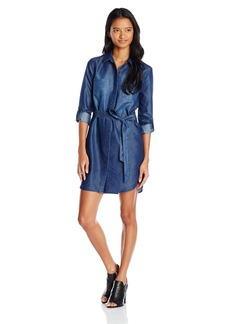 XOXO Junior's Chambray Shirt Dress