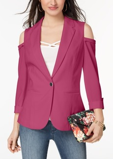 Xoxo Juniors' Cold-Shoulder Blazer