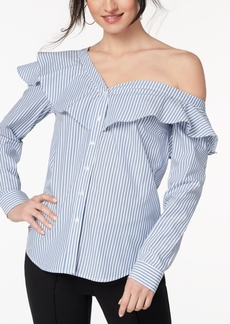 Xoxo Juniors' Cotton Off-The-Shoulder Shirt