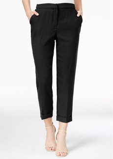 Xoxo Juniors' Cuffed Cropped Pants