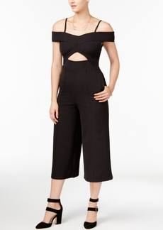 Xoxo Juniors' Cutout Culotte Jumpsuit