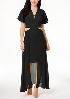 Xoxo Juniors' Cutout Maxi Dress
