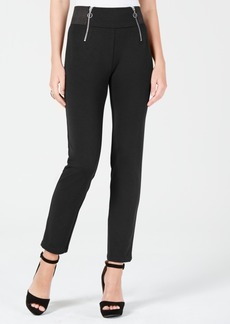 Xoxo Juniors' Double-Zipper Skinny Pants