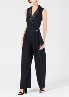 Xoxo Juniors' Embellished Belted Jumpsuit