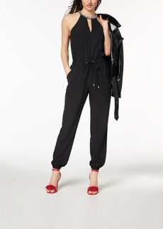 Xoxo Juniors' Embellished Drawstring Jumpsuit