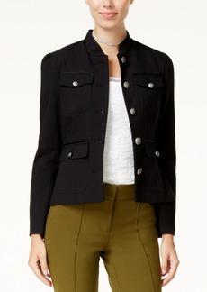 Xoxo Juniors' Flap-Pocket Peplum Jacket