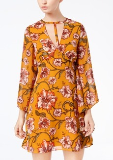 Xoxo Juniors' Floral-Print Choker Dress