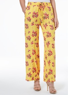 Xoxo Juniors' Floral-Print Soft Pants