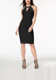Xoxo Juniors' Grommet-Trimmed Bodycon Dress