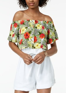 Xoxo Juniors' Off-The-Shoulder Crop Top