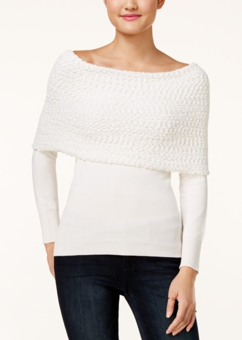 Xoxo Juniors' Off-The-Shoulder Sweater
