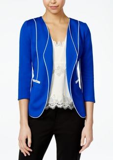 Xoxo Juniors' Piped Open-Front Blazer