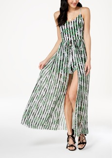 Xoxo Juniors' Printed Maxi Romper