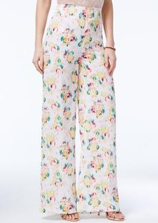 Xoxo Juniors' Printed Wide-Leg Trousers