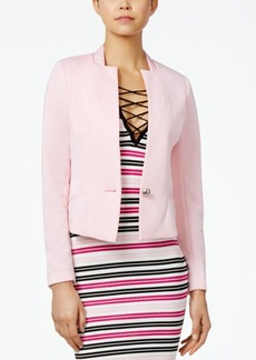 Xoxo Juniors' Ribbon Collar Blazer