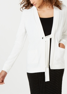 Xoxo Juniors' Ring-Tie Cardigan