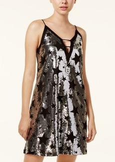 Xoxo Juniors' Sequined A-Line Dress