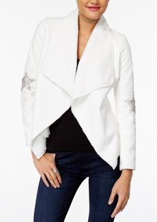 Xoxo Juniors' Star Embellished Jacket