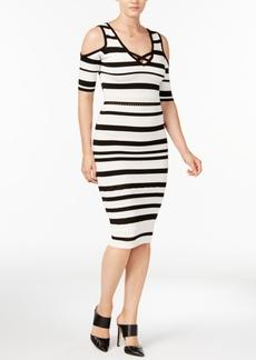 Xoxo Juniors' Striped Bodycon Dress