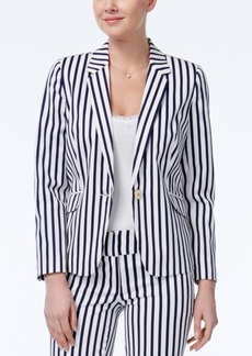 Xoxo Juniors' Striped Boyfriend Blazer
