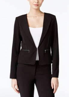 Xoxo Juniors' Zipper-Pocket Blazer