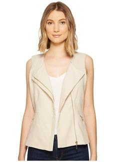 XOXO Linen Zip Front Vest