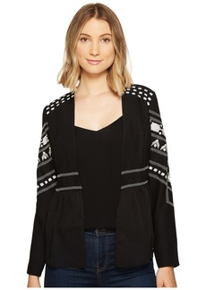 XOXO Long Sleeve Beaded Jacket