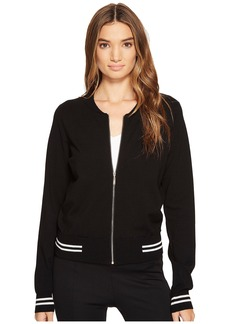 XOXO Long Sleeve Sweater Bomber