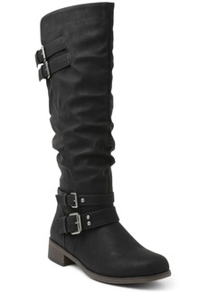 Xoxo Mayson Wide Calf Tall Boots Women's Shoes