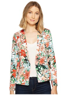 XOXO Single Button Blazer w/ Welt Pockets
