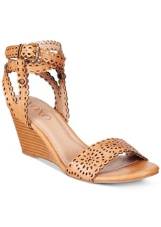 Xoxo Sissy Lasercut Demi-Wedge Sandals Women's Shoes