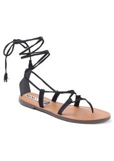 Xoxo Surf Lace Up Flat Sandals Women's Shoes