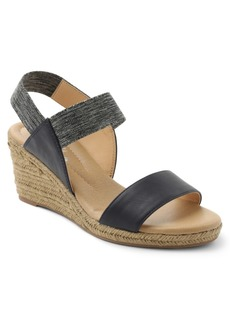 Xoxo Switzerland Stretch Espadrille Wedge Sandals Women's Shoes