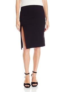 "XOXO Women's 24"" Skirt with High Side Slit"