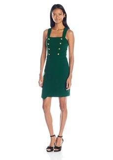 "XOXO Women's 25 3/4"" Asymmetrical Sheath Dress"