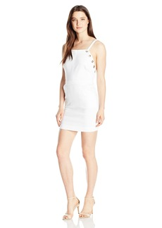 XOXO Women's 31 Denim Sheath Dress with Grommet Detail