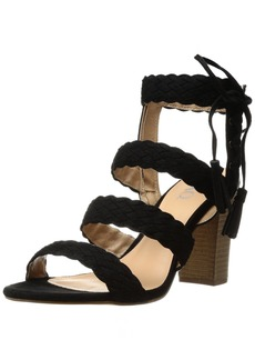 XOXO Women's Binnie Heeled Sandal   M US