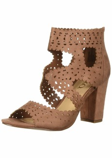 XOXO Women's Bowery Heeled Sandal   M US