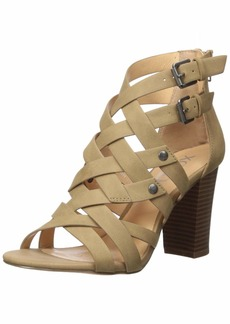XOXO Women's Briannah Heeled Sandal   M US
