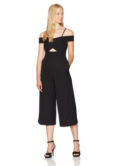 XOXO Women's Culotte Jumpsuit