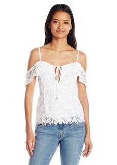 78a30b35674 XOXO Xoxo Juniors' Cotton Printed Corset Blouse   Casual Shirts