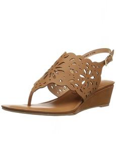 XOXO Women's Frazer Wedge Sandal