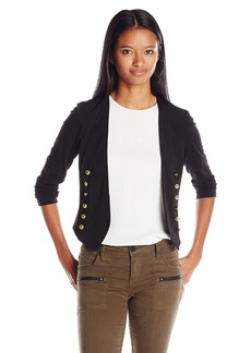 XOXO Women's Knit Open Front Jacket