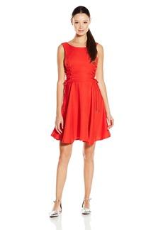 XOXO Women's Lace Panel Dress