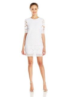 XOXO Women's Lace Sheath Dress