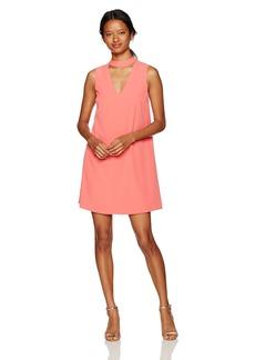 XOXO Women's Sleeveless Choker Dress