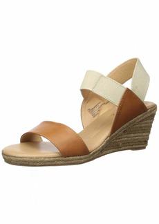 XOXO Women's Switzerland Sandal tan/Gold  M US