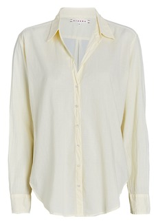Xírena Beau Cotton Button-Down Shirt
